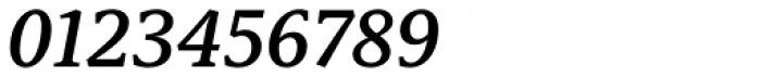 Capitolina Semi Bold Italic Font OTHER CHARS