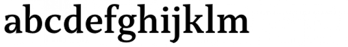Capitolina Semi Bold Font LOWERCASE