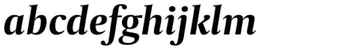 Capitolium 2 Bold Italic Font LOWERCASE