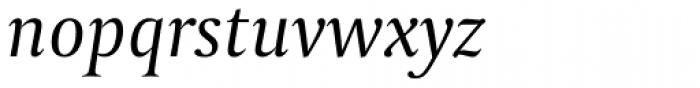 Capitolium 2 Italic Font LOWERCASE