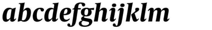 Capitolium Head 2 Bold Italic Font LOWERCASE