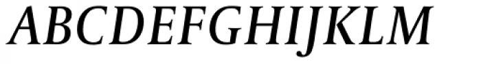 Capitolium Head 2 Italic Font UPPERCASE