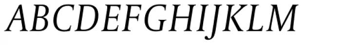 Capitolium Head 2 Light Italic Font UPPERCASE
