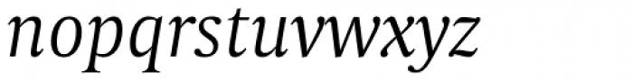 Capitolium Head 2 Light Italic Font LOWERCASE