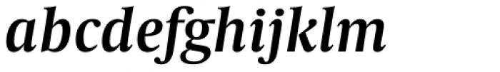 Capitolium Head 2 SemiBold Italic Font LOWERCASE