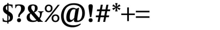 Capitolium Head 2 SemiBold Font OTHER CHARS