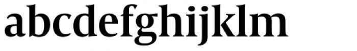 Capitolium Head 2 SemiBold Font LOWERCASE