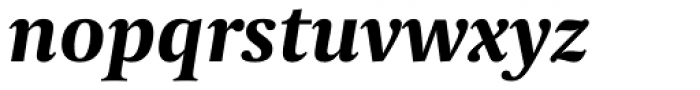Capitolium News 2 Bold Italic Font LOWERCASE
