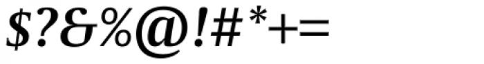 Capitolium News 2 SemiBold Italic Font OTHER CHARS