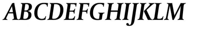 Capitolium News 2 SemiBold Italic Font UPPERCASE
