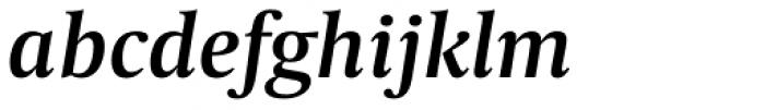 Capitolium News 2 SemiBold Italic Font LOWERCASE