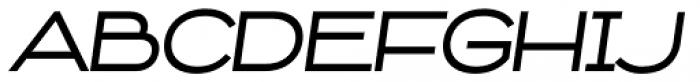 Capoon Medium Italic Font UPPERCASE