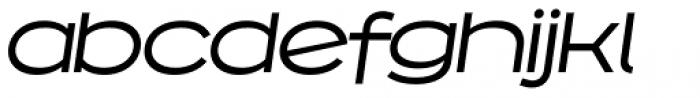 Capoon Medium Italic Font LOWERCASE