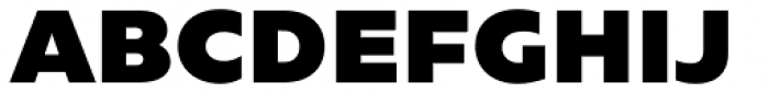 Caprina Extra Black Font UPPERCASE