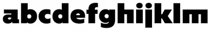 Caprina Extra Black Font LOWERCASE