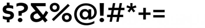 Caprina Medium Font OTHER CHARS