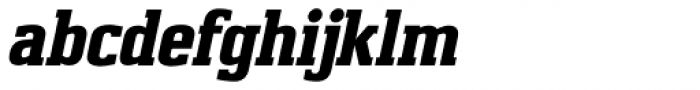Capstan Italic Font LOWERCASE