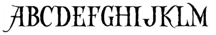 Captain Kidd Font UPPERCASE