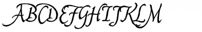 Captain Quill Font UPPERCASE