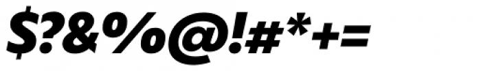 Captura Black Italic Font OTHER CHARS