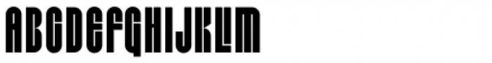 Capzule Font UPPERCASE