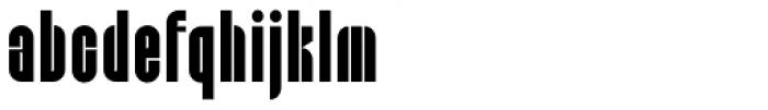 Capzule Font LOWERCASE