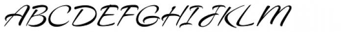 Caramel Pro-ROB Font UPPERCASE