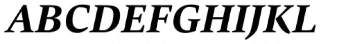 Carat Bold Italic Font UPPERCASE