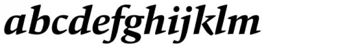 Carat Bold Italic Font LOWERCASE