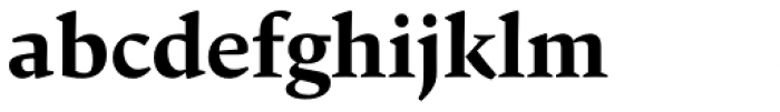 Carat Bold Font LOWERCASE
