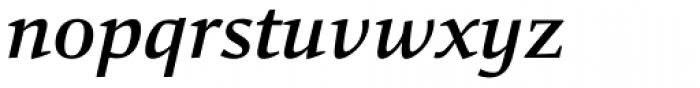 Carat Medium Italic Font LOWERCASE