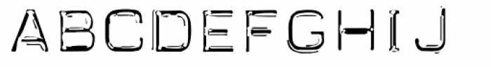 Carbon 14 Neo Lite Font UPPERCASE