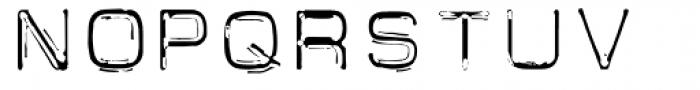 Carbon 14 Neo Lite Font LOWERCASE