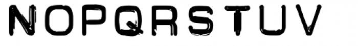 Carbon 14 Stout Font LOWERCASE