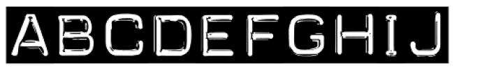Carbon 14 Font LOWERCASE