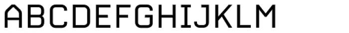 Carbon C6 Font UPPERCASE