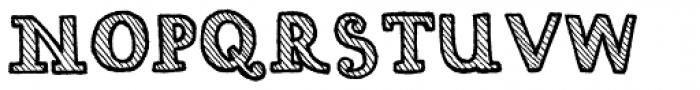 Carbon Neutral Font UPPERCASE