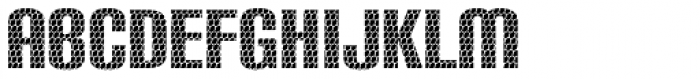 Carbon Phyber Font UPPERCASE