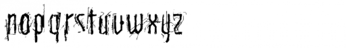 Carbon Tax Font LOWERCASE