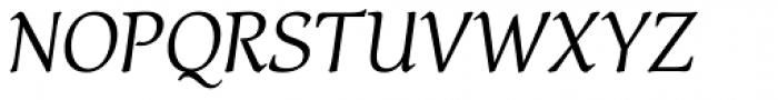 Carbonium Italic Font UPPERCASE