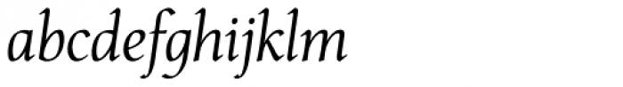 Carbonium Italic Font LOWERCASE