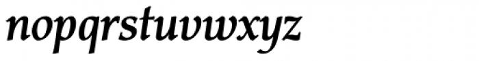 Carbonium OSF Bold Italic Font LOWERCASE