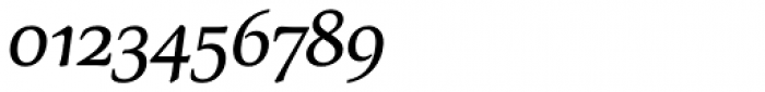 Carbonium OSF Semi Bold Italic Font OTHER CHARS
