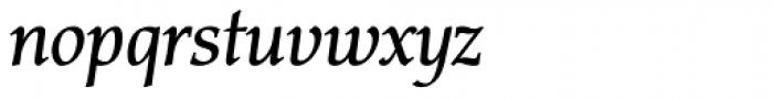 Carbonium OSF Semi Bold Italic Font LOWERCASE
