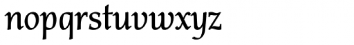 Carbonium OSF Semi Bold Font LOWERCASE