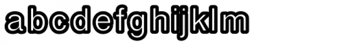 Carbono Font LOWERCASE