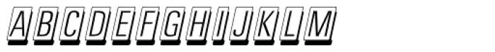 Cardcamio Font UPPERCASE