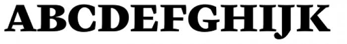 Cardea Basic Black Lining Font UPPERCASE