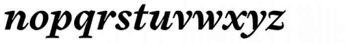 Cardea Basic Bold Italic Lining Font LOWERCASE