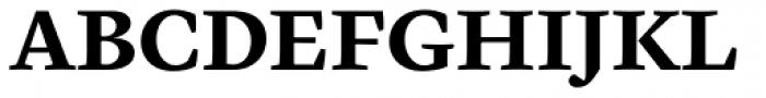 Cardea Basic Bold Lining Font UPPERCASE